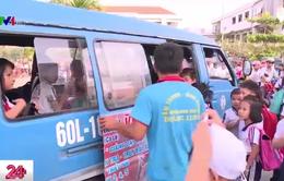 Đồng Nai: Nhiều xe đưa đón học sinh thiếu an toàn