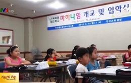 Cô dâu Việt mở lớp dạy tiếng Việt tại Hàn Quốc