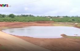Gia Lai: Nguy cơ đuối nước tại các hồ chứa nước tưới