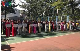 Hội thao Cộng đồng người Việt tại Bắc Kinh gắn kết sức mạnh Việt Nam