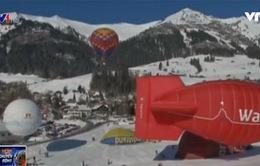 Rực rỡ lễ hội khinh khí cầu tại Thụy Sĩ