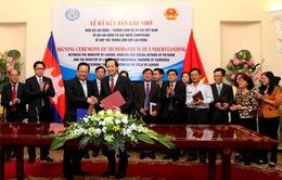 Việt Nam - Campuchia tăng cường hợp tác về lao động việc làm