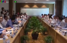 Hội đàm hợp tác phát triển ngành công thương, năng lượng - mỏ giữa Việt Nam - Lào