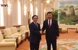 Trưởng ban Đối ngoại Trung ương Hoàng Bình Quân hội kiến Chủ tịch Trung Quốc