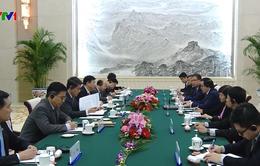 Trưởng ban Đối ngoại Trung ương Hoàng Bình Quân hội kiến Trưởng ban Đối ngoại Trung Quốc