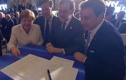 Hội nghị thượng đỉnh EU diễn ra tại Rome mà không có Thủ tướng Anh