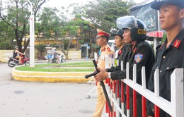 Bảo đảm an ninh cho đoàn phu nhân/phu quân APEC tham quan Hội An