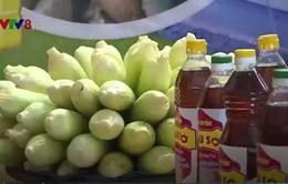 Quảng Trị: Khai mạc hội chợ nông sản sạch