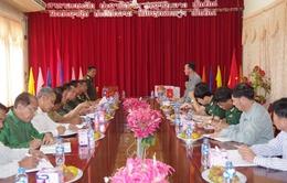 Hội đàm tìm kiếm, cất bốc, quy tập mộ liệt sĩ tại Lào