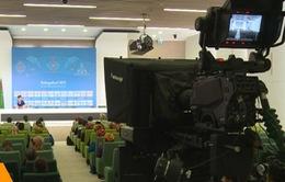Hội nghị truyền thông của Đại hội thể thao trong nhà và võ thuật châu Á 2017