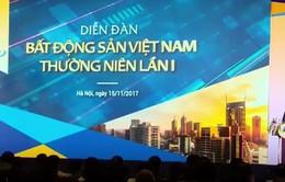Khai mạc Diễn đàn bất động sản Việt Nam thường niên lần thứ nhất