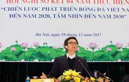 VIDEO: Hội nghị sơ kết thực hiện chiến lược phát triển bóng đá Việt Nam
