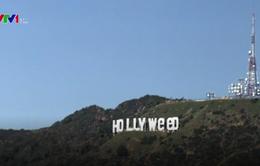 Chỉ sau một đêm, biểu tượng Hollywood đã biến thành... Hollyweed