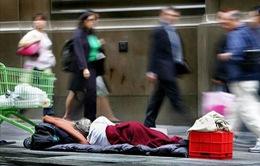 Australia: Kinh tế ổn định 30 năm, tình trạng vô gia cư vẫn tăng