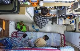 Cuộc sống trong những ngôi nhà siêu nhỏ tại Hong Kong (Trung Quốc)
