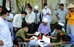 Kết luận ban đầu vụ rò rỉ khí amoniac tại huyện Bình Chánh, TP.HCM
