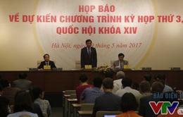 Quốc hội dự kiến xem xét thông qua 13 dự án luật, 5 dự thảo nghị quyết