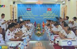 Hải quân Việt Nam - Campuchia thống nhất về cuộc tuần tra chung thứ 49
