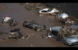 Nhiều nước châu Á bị thiệt hại do mưa bão