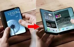 """Điện thoại màn hình gập của Samsung: """"Đừng mơ"""" trước năm 2019"""