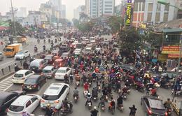 Ùn tắc giao thông gia tăng tại Hà Nội và TP.HCM