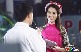 MC Thụy Vân đẹp rực rỡ trong Gala Việc tử tế 2017