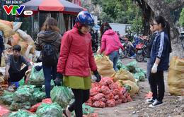 Hà Nội: Người dân chung tay mua nông sản sạch giúp bà con Hà Giang