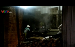 Sản xuất hủ tiếu trong khu dân cư gây ô nhiễm