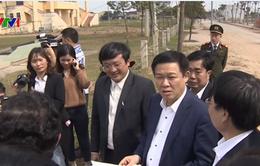 Kiểm tra việc xây dựng nông thôn mới tại Nghệ An