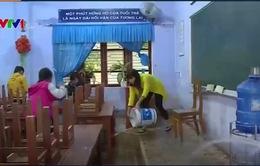 TT-Huế: Ngành giáo dục khắc phục khó khăn sau lũ