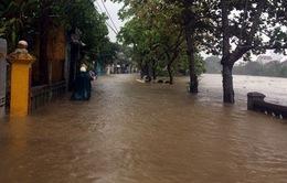 Mưa to gây ngập tại Thừa Thiên – Huế