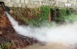 Hưng Yên: Người dân sống cùng ô nhiễm vì DN ngang nhiên xả thải