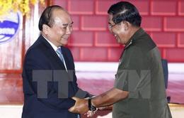 Trao đổi Thư chúc mừng kỷ niệm 50 năm quan hệ Việt Nam - Campuchia