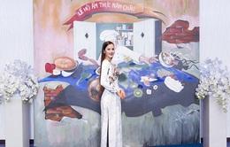 Rút khỏi Hoa hậu Hoàn vũ, Hương Ly bất ngờ trở thành đại sứ Lễ hội ẩm thực năm châu 2017