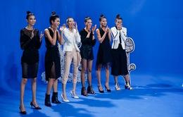 """Vietnam's Next Top Model 2017: Top 6 phấn khích vì được chụp hình cùng """"soái ca"""" Hứa Vĩ Văn"""