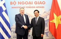 Hy Lạp mong muốn tăng cường quan hệ tốt đẹp với Việt Nam