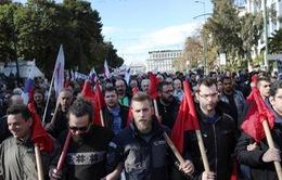 Tổng bãi công tại Hy Lạp làm tê liệt nhiều hoạt động giao thông