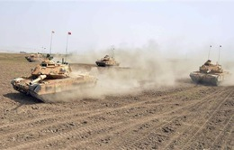 Quân đội Thổ Nhĩ Kỳ và Iraq tập trận chung