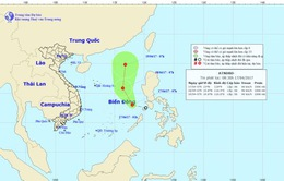Xuất hiện áp thấp nhiệt đới đi vào Biển Đông