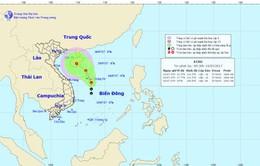 Vùng áp thấp trên Biển Đông có khả năng mạnh lên thành áp thấp nhiệt đới