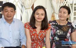 Nữ sinh Quảng Ngãi giành 12 học bổng đại học nổi tiếng thế giới
