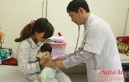 Nghệ An: Gia tăng số trẻ mắc bệnh ho gà