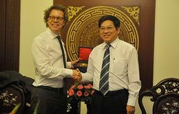 Lãnh đạo tỉnh Khánh Hòa tiếp Đại sứ Thụy Điển