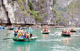 26.000 du khách đến Vịnh Hạ Long đầu năm mới