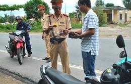 Tăng cường kiểm soát trật tự giao thông trên đảo Lý Sơn