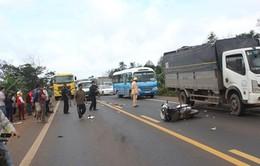 Tạm đình chỉ công tác lái xe gây tai nạn tại Đăk Lăk