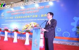 Triển lãm sản phẩm cơ khí - điện tử Việt Nam 2017