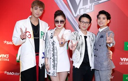 Dàn HLV Giọng hát Việt nhí chính thức ra mắt khán giả