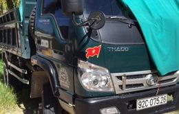 Xe chở cát lậu gây tai nạn chết người tại Quảng Nam