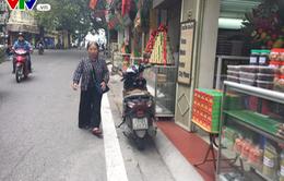 Cận cảnh những con phố không có vỉa hè tại Hà Nội